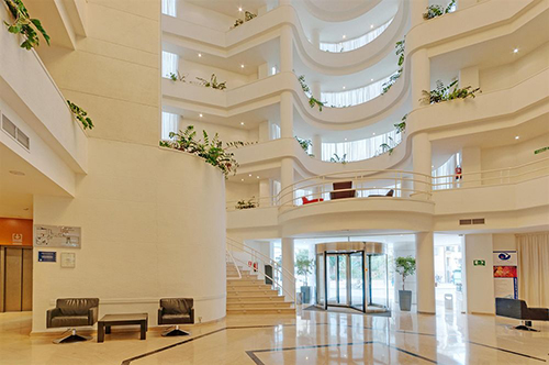 hall tryp ceuta hotel